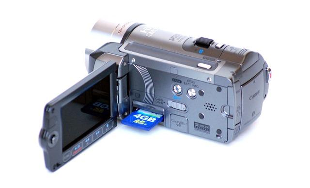 Hard Disk Format Camcorders
