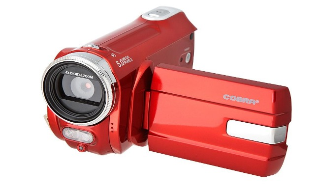 LCD Display Camcorders