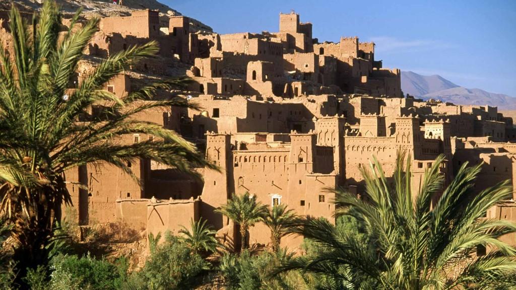 Ait Bennhadou. Ouarzazate region. Marocco.