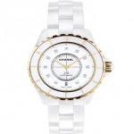 Chanel White Ceramic women's watch