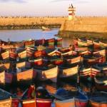 El Jadida, old portuguese city. Atlantic coast. Morocco