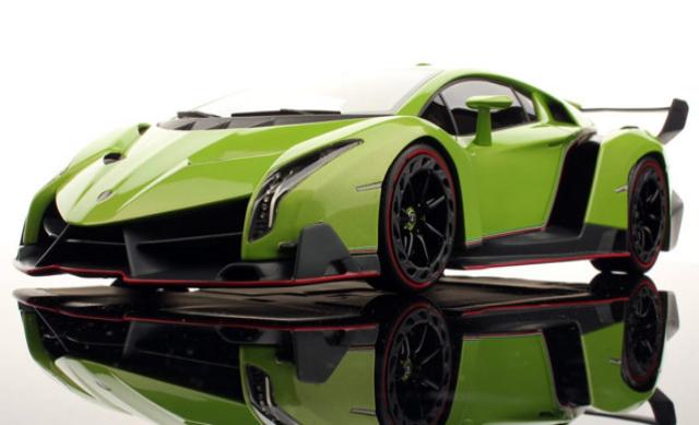 Lamborghini Veneno 2014 Green