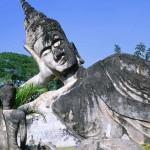 Buddha Park. Vientiane. Laos