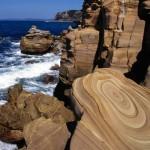 Coastal Sandstone, Maitland Bay, Bouddi National Park, South Wales, Australia