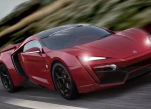 Top Gear Super Luxury Car W Motor Lykan Hypersport