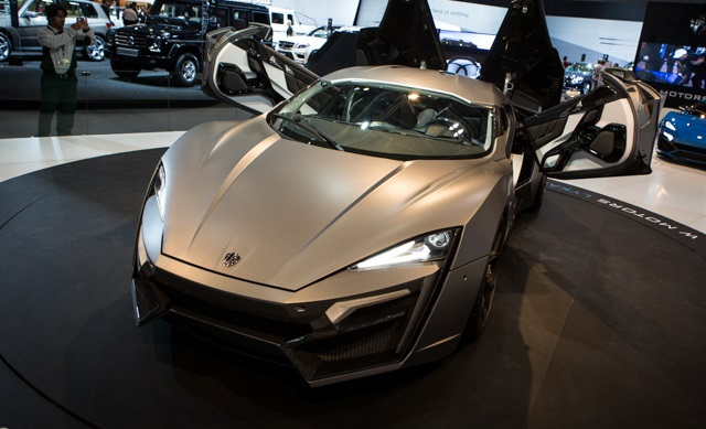 W Motors lykan Hypersport Car