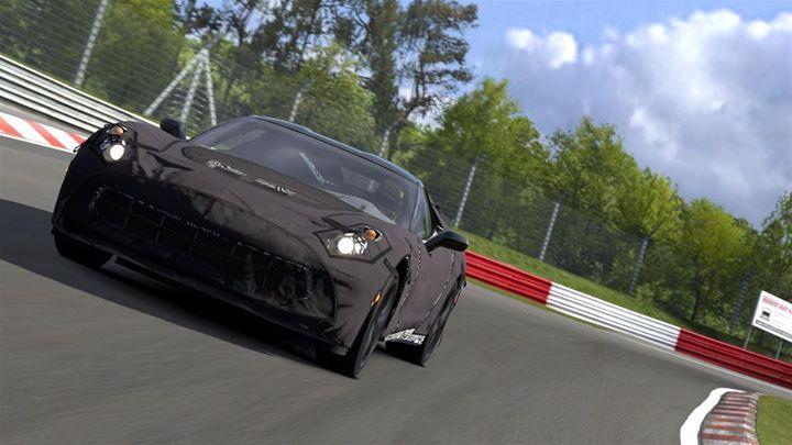 Black Corvette 13