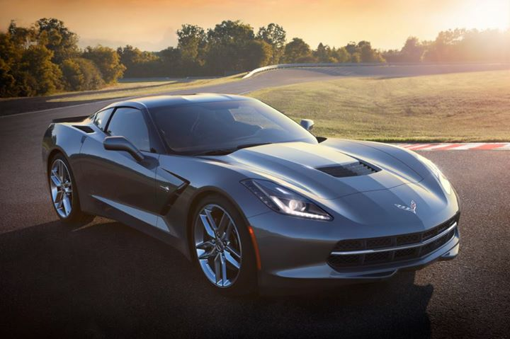 Black Corvette 15