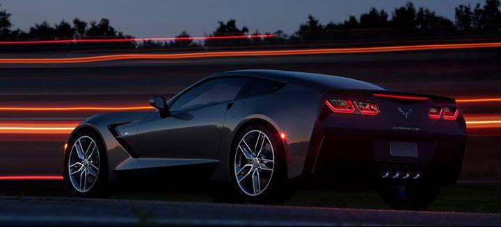 Black Corvette 17