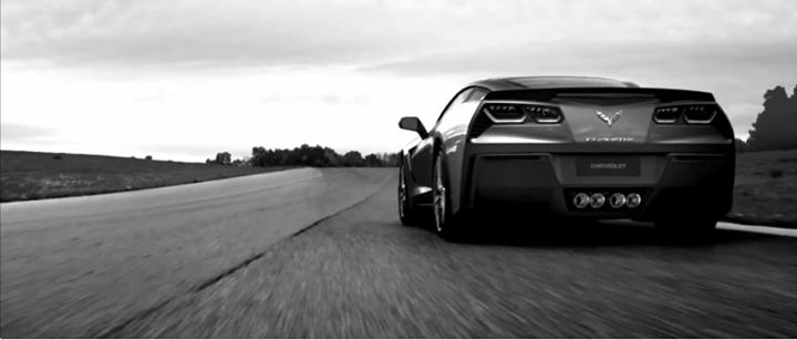 Black Corvette 2