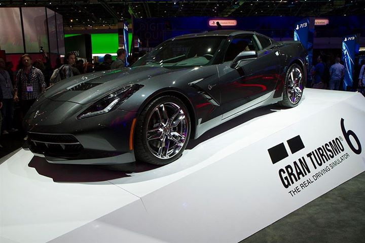 Black Corvette 21