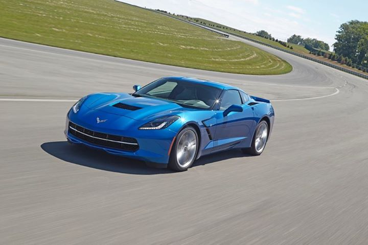 Blue Corvette 1