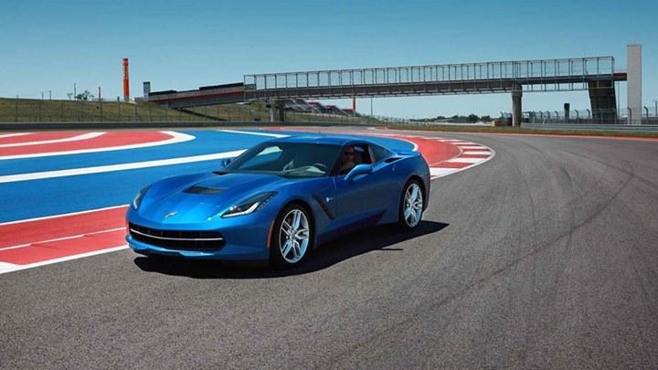Blue Corvette 12