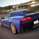 Blue Corvette 13