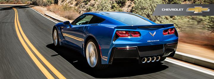 Blue Corvette 11