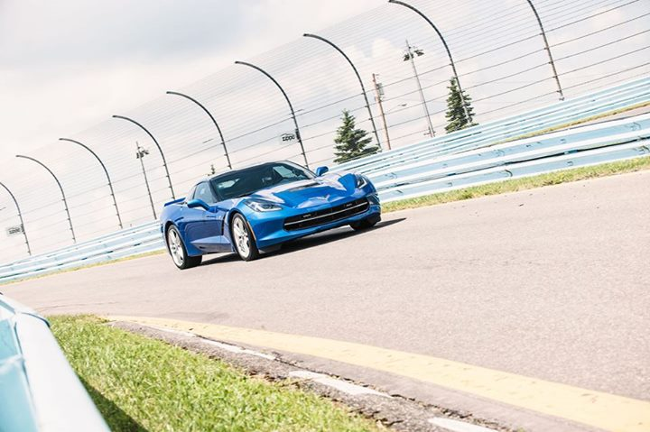 Blue Corvette 16