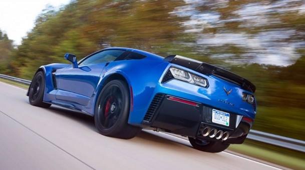 Top Gear Super Sports Car Blue Corvette Episode 2