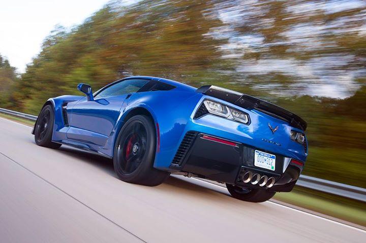 Blue Corvette 17
