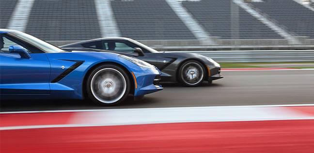 Blue Corvette 18