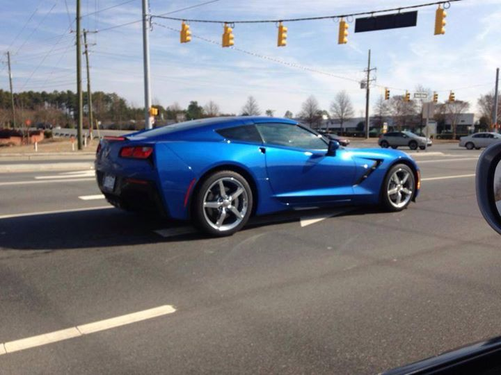 Blue Corvette 19