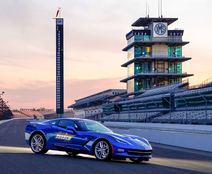 Blue Corvette 2