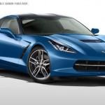 Blue Corvette 4