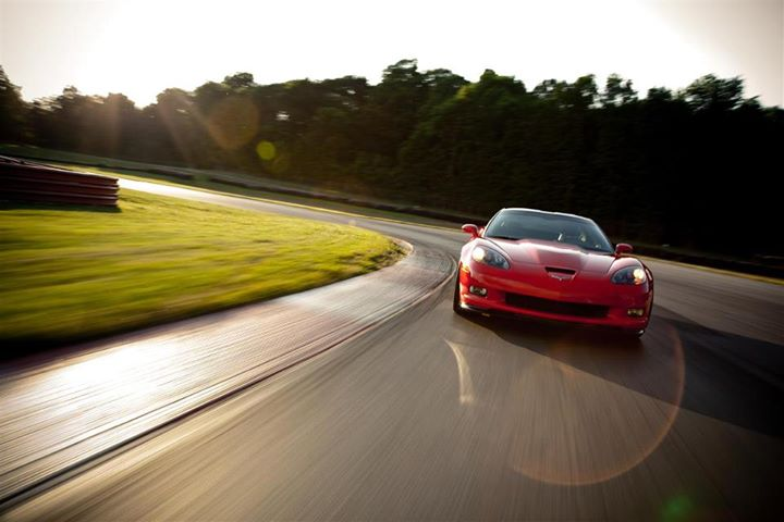 Red Corvette 10