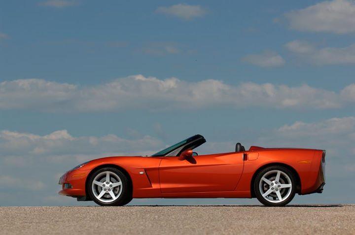 Red Corvette 12