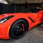 Red Corvette 17