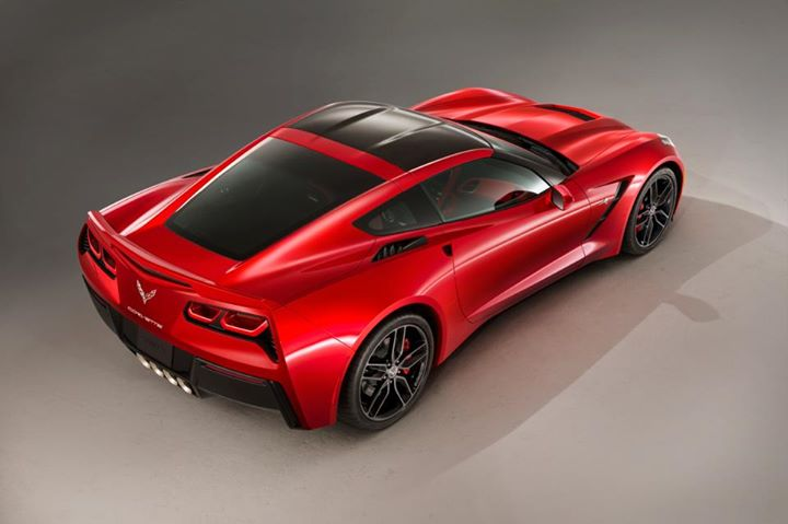 Red Corvette 18