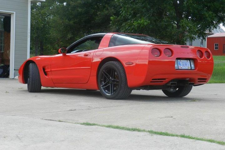 Red Corvette 11