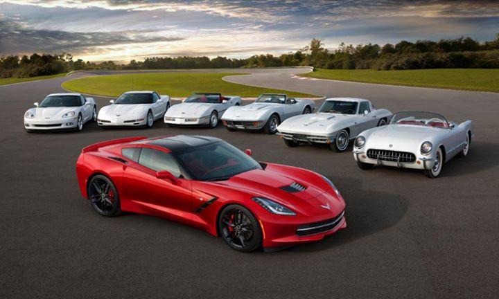 Red Corvette 7