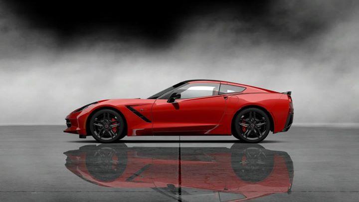 Red Corvette 9