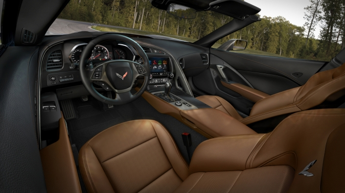 Chevrolet corvette Interior 6