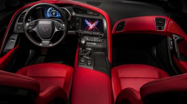 Top Gear Super Sports Car Chevy Chevrolet Corvette c7 Interior