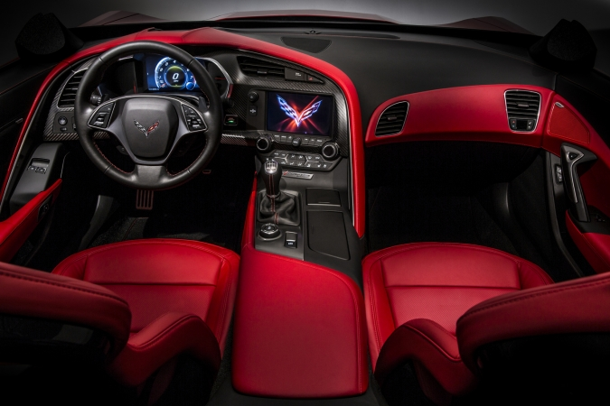 Chevrolet Corvette c7 Interior