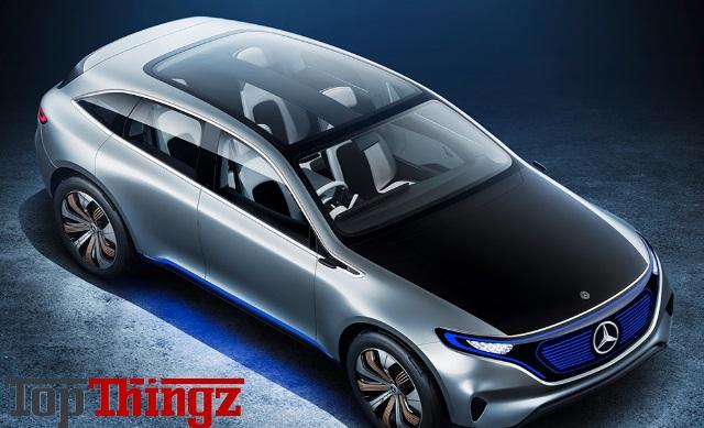 Electric suv future mercedes benz eq concept topthingz for Mercedes benz concept eq