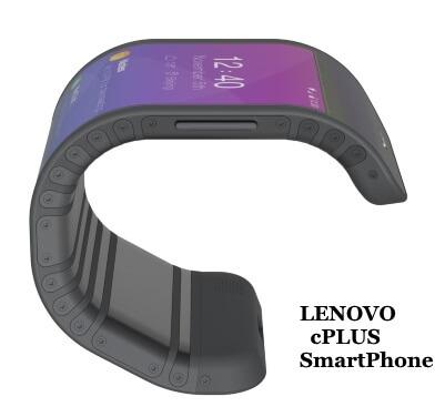 New Lenovo cPlus flexible Concept Smartphone