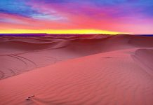 Dubai-desert-sunrise