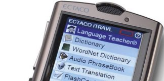 Ectaco Iitravl Multilingual Communicator