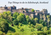 Things to Edinburgh Scotland