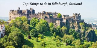 Things to Edinburgh Scotland