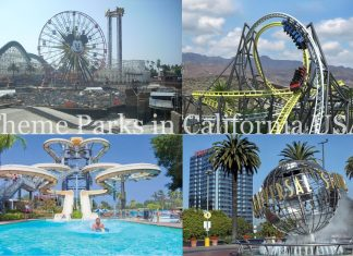 Theme Parks in California USA