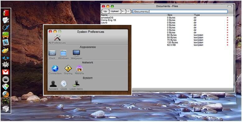 amoebaOS cloud computing operating system